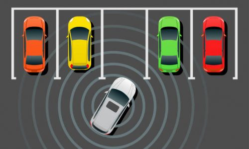 Self-driving, Smart Auto Parking booking in hybrid office